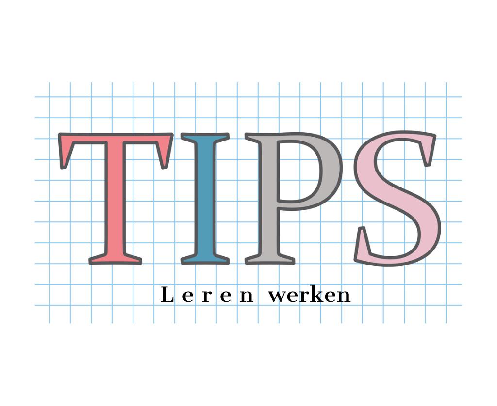 tips leren werken