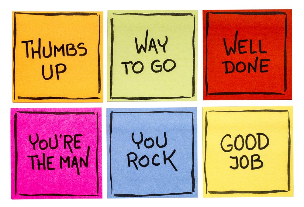 tips complimenten klein